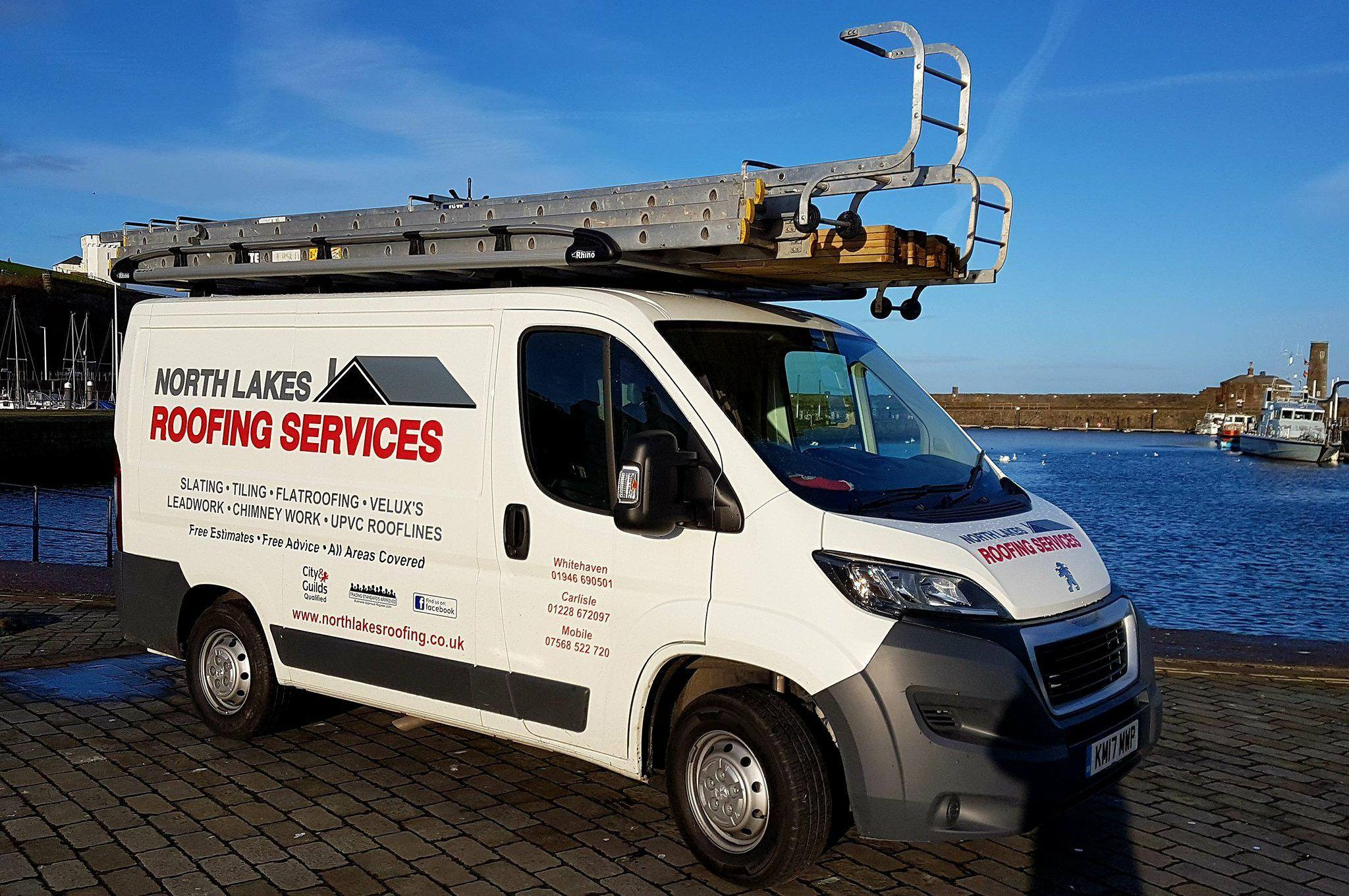 North Lakes Roofing Cumbria Van